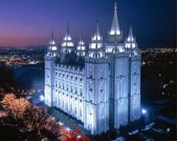 Il tempio di Salt Lake City - Stati Uniti -