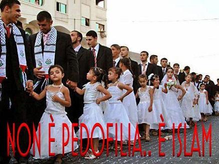 Le spose bambine islamiche sono 60 milioni ed hanno meno di 13 anni