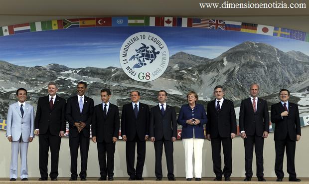 Coppito (AQ) e' la formazione del G8, ma ... sono 10