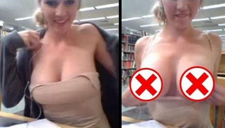 Usa, gira un video porno in biblioteca e viene arrestata