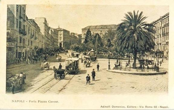 Napoli - Piazza Cavour, fine '800