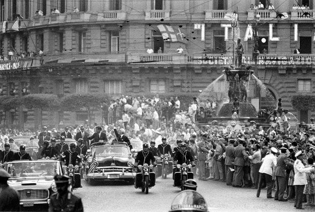 Kennedy a Napoli 1963