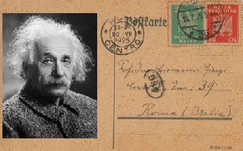 Venduta all'asta una lettera di Albert Einstain dove afferma che Dio ha creato il mondo