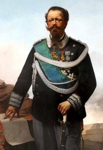 Vittorio Emanuele II di Savoia,  l'ultimo re di Sardegna e il primo re d'Italia