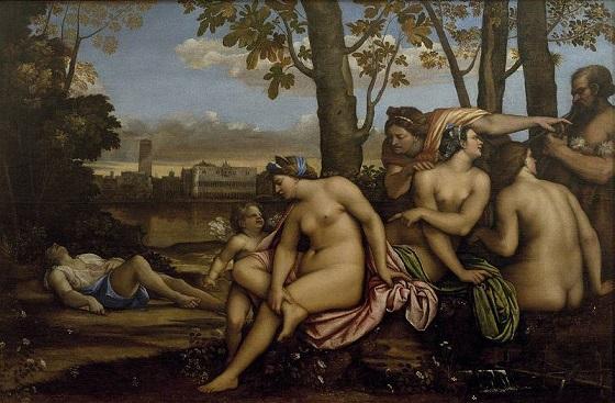 Opera del giorno, Sebastiano del Piombo, La morte di Adone, 1512. Firenze, Galleria degli Uffizi