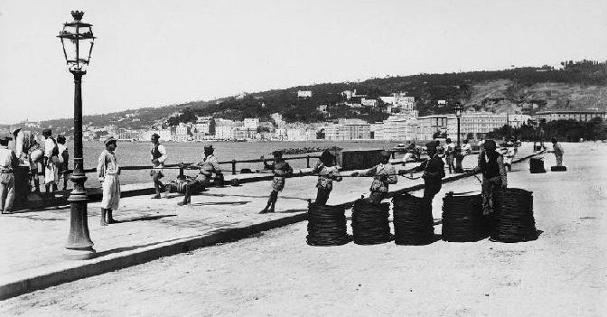 Napoli lungomare 1900