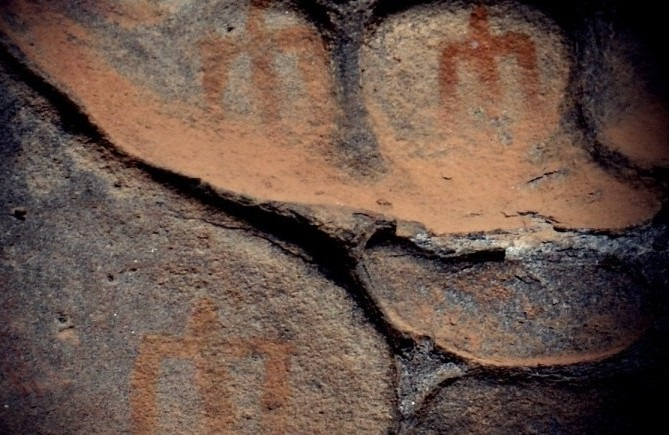 Sensazionale scoperta Baunei: pitture antropomorfe risalenti a 4.500 anni fa