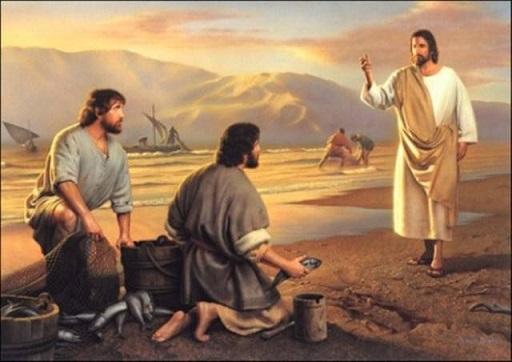 Gesù chiama i primi discepoli