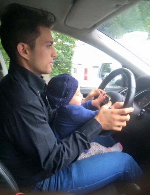Nella Q7 zio e nipote, Nico e Sara