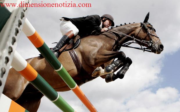 GB, equitazione a Windsor - Nick Skelton su 'Nemo 119' -