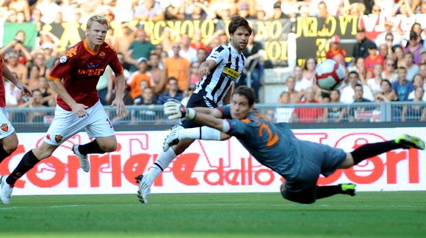 Gol di Diego al 25° - Roma 1  Juve 3 -