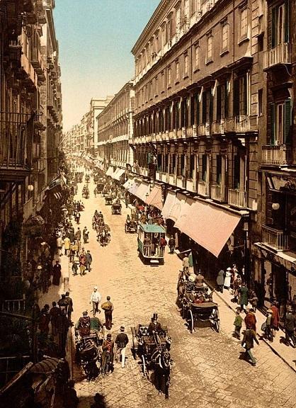 Napoli: Via Roma 1910