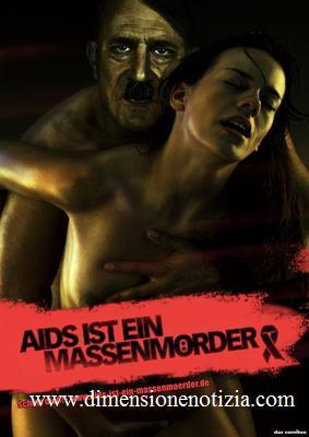 Spot - Shock in Germania:  l'AIDS come Hitler, e' morte -