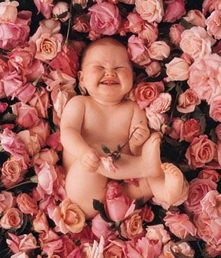 Bimbo felice -