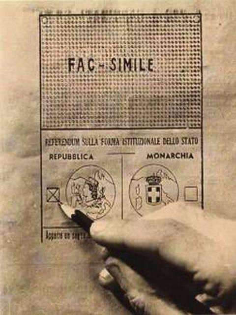 Nel '46 nacquero grandi speranze per l'Italia