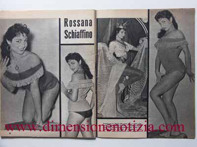 Cartoline da Cinecittà: Collezione di Stelle - Rossana Schiaffino -