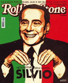 Nomina Silvio Berlusconi - Rockstar dell'anno -