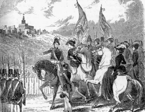 Il battaglione Mormone capeggiato dal profeta Joseph Smith -