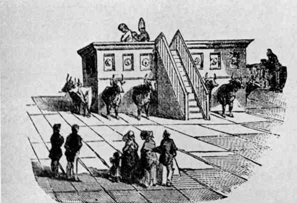 Fonte Battesimale dei Mormoni di Naavoo - 1850 - Stati Uniti -