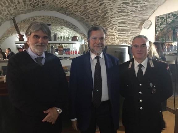 Il Prefetto di Isernia Dott. Fernando Guida, all' Hotel Sammartino -  Agnone - IS