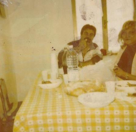 Casa mare, Treppete, Mondragone CE - Agosto 1990