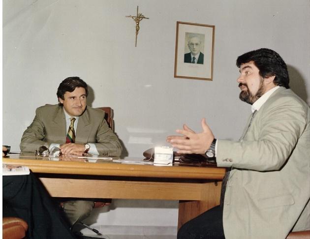 Il sindaco intervistato da Giuseppe Piccolo - Napoli