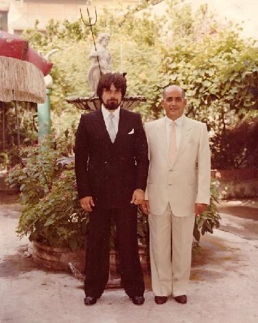 Giuseppe Piccolo con Gino Piccolo 1982
