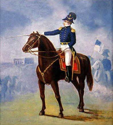 Il profeta Joseph Smith a cavallo - Stati Uniti -