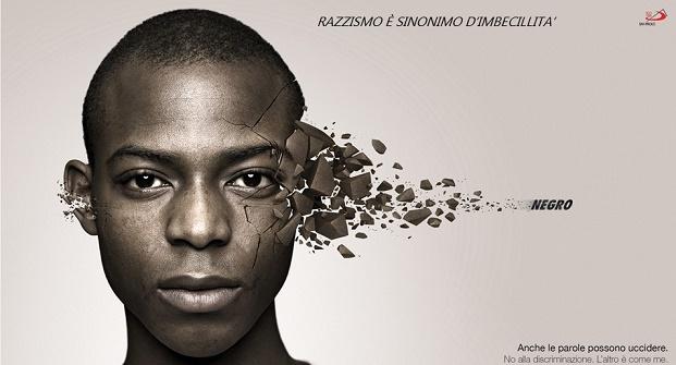 Il razzismo è l'espressione del cervello umano ridotta ai minimi termini