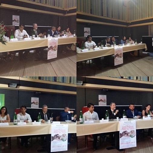 Convegno sulla corretta alimentazione ed integrazione alimentare con il Prefetto di IS Dott Guida