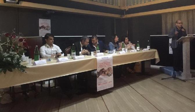 Convegno sulla corretta alimentazione ed integrazione alimentare con il Prefetto di Isernia D. Guida