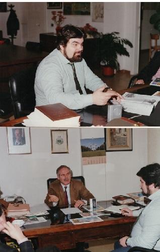 Il sindaco di Napoli intervistato da Giuseppe Piccolo