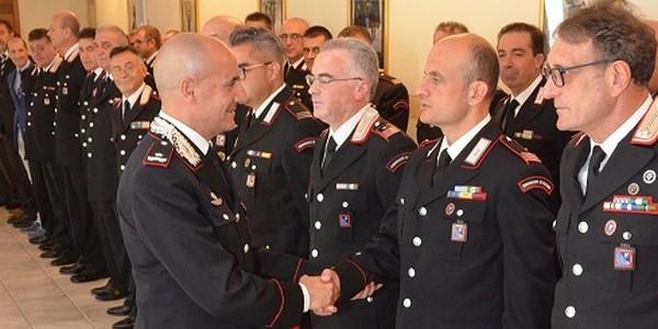 Il comandante della Legione Carabinieri Abruzzo e Molise in visita ai Carabinieri di Isernia