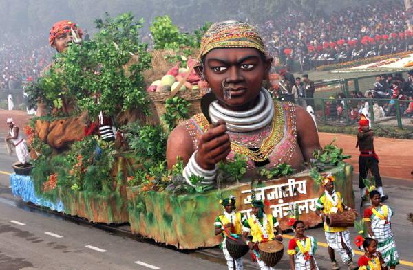 India, i festeggimanti per la festa della Repubblica -
