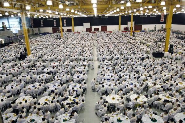 Congresso nazionale dei preti nelle Filippine: sono migliaia