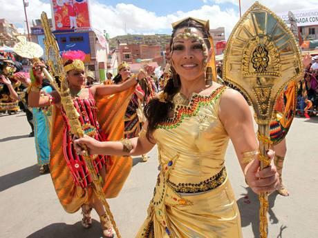 Impazza il Carnevale, Ronaldo sfila a San Paolo7 -