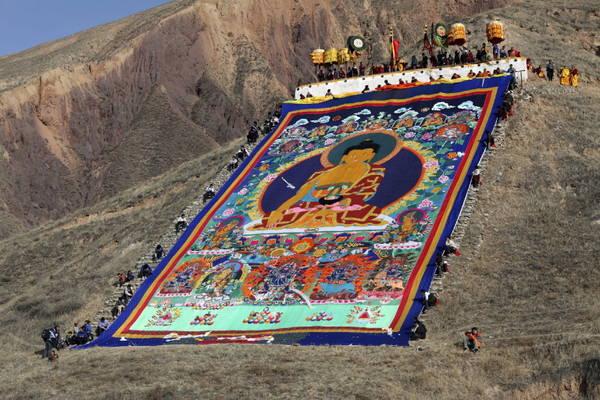 Festa tibetana: celebrazioni in onore del Budda -