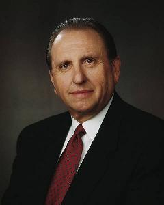 Thomas S. Monson è il 16º Presidente della Chiesa di Gesù Cristo dei Santi degli Ultimi Giorni -