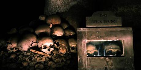 Il cimitero delle Fontanelle si trova nel cuore del Rione Sanita' -