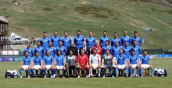 La nuova maglia degli Azzurri -