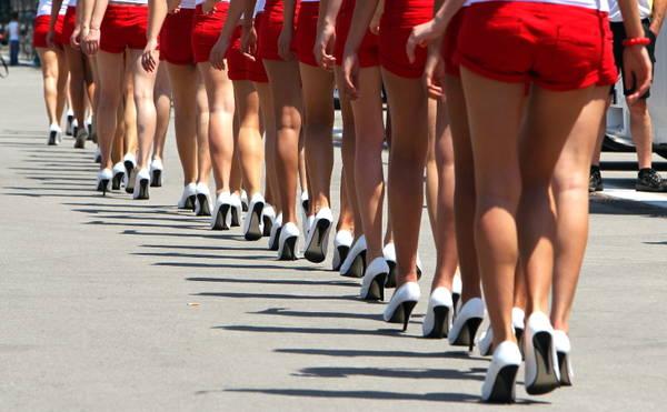 F1: le gambe delle ''grid girls'' del Gp di Turchia -