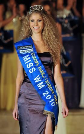 Miss mondiali e' Jennifer Scherman e ha 17 anni -