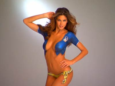 "Le Curve di Melissa Satta, fotografata a New York da Yu Tsai per ""Sports Illustrated"" -"