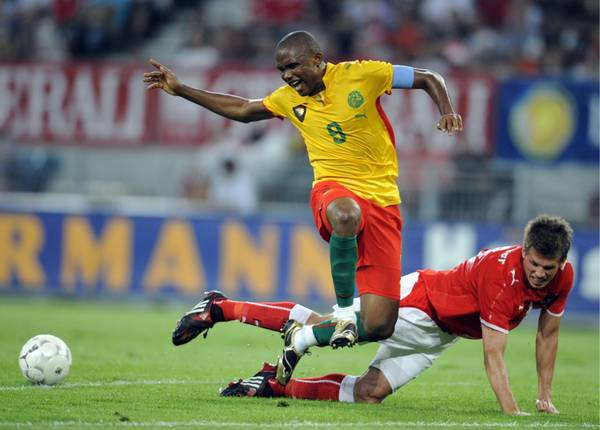 Camerun, Samuel Eto'o -