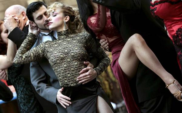 Ballerini di tango a Roma -