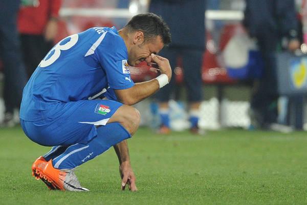 Disfatta Italia, Azzurri a casa -