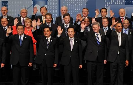 I leader al G20 -