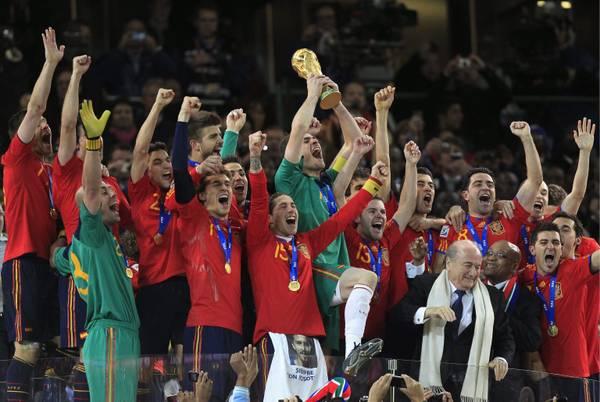 Spagna campione del mondo -