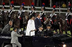 Berlusconi-Gheddafi Celebrazioni del Trattato d'amicizia italo-libica 30.08.2010 -