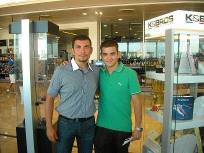 Vincenzo e Nico ad Hammamet - Tunisia - Agosto 2010 -